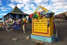 Himalayan Pass Stock Photography
