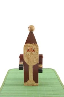Free Father Christmas Figure Royalty Free Stock Image - 1492086