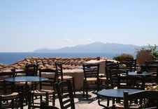 Free Greek Cafe Royalty Free Stock Images - 1492479