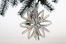 Free Glass Christmas Ornament Stock Photography - 1493132