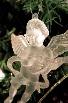 Free Crystal Angel Royalty Free Stock Image - 1494556