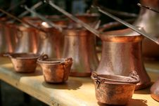 Free Metal Pots Royalty Free Stock Images - 1494659