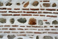 Free Ancient Brick Wall Stock Photos - 1494713