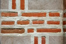 Free Ancient Brick Wall Stock Photo - 1494870
