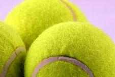 Free Tennis Balls Stock Image - 1494931