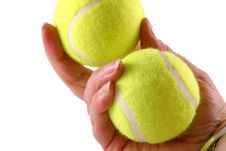Free Tennis Balls Stock Photos - 1494963
