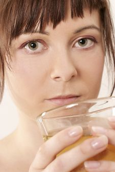 Free Drinking Girl Stock Images - 1495044