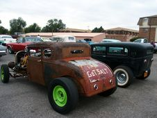 Free American Hotrods Royalty Free Stock Photography - 1495097