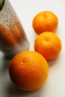 Free Three Oranges Royalty Free Stock Images - 1495899