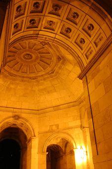 Free Arc By Night Royalty Free Stock Photos - 1496968