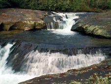 Free Dicks Creek Falls 3 Royalty Free Stock Photo - 1497575