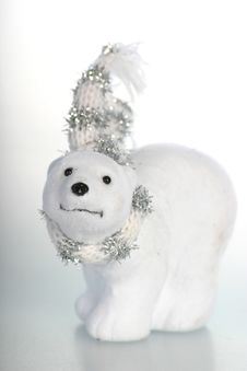 Free Cute Ice-bear Ornament Royalty Free Stock Photos - 1498248