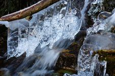 Free Frozen Torrent Royalty Free Stock Images - 1498899