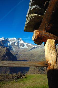 Free Alpine Farm Stock Image - 1498941