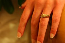 Free Wedding Ring Royalty Free Stock Image - 1499446