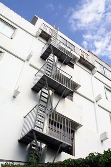 Free Fire Escape Royalty Free Stock Photos - 14900938