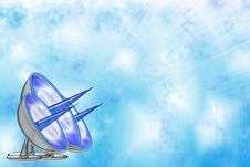 Free Blue Sky Background With Antennas Stock Image - 14901681