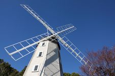 Free Windmill Blue Sky Royalty Free Stock Images - 14901719