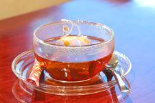 Free Korean Black Tea 1 Royalty Free Stock Photo - 14901895