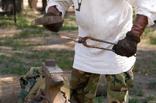 Free Blacksmith At Work Stock Images - 14902134