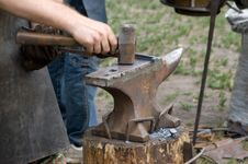 Free Blacksmith At Work Royalty Free Stock Images - 14902699