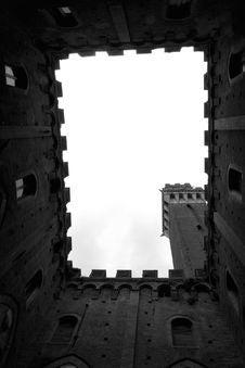 Free Sienese Skyline Stock Photography - 14902732