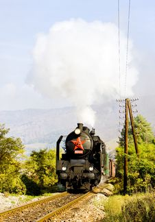 Free Steam Locomotive Royalty Free Stock Image - 14902856