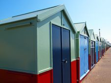 Free Beach Houses Royalty Free Stock Image - 14903336