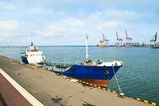 Free Sea Port View In Odessa Stock Images - 14903774