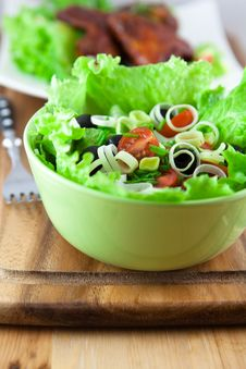 Free Vegetable Salad Stock Images - 14904224
