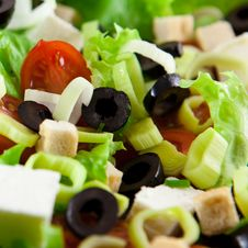 Free Salad With Croutons Stock Photos - 14904233