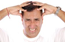 Free Headache Royalty Free Stock Photos - 14904468