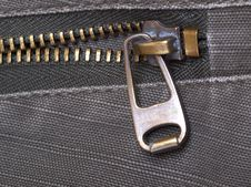 Free Metal Zipper Royalty Free Stock Photos - 14904718