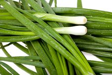 Free Spring Onions Royalty Free Stock Image - 14905166