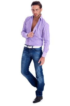 Free Male Model In Casual Wear Stock Photo - 14905430