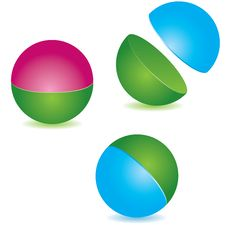 Free Abstract Sphere. Vector Illustration Stock Image - 14905601