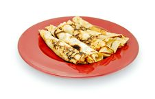 Free Rolled Pancakes Stock Photography - 14905742