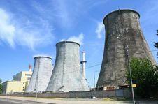 Free Heat Electropower Station Royalty Free Stock Photos - 14905818