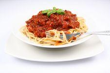 Free Spaghetti Bolognese Stock Photo - 14905900
