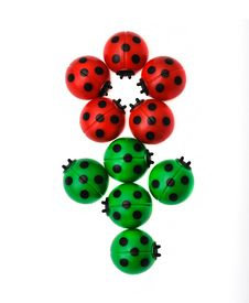 Free Flower From Ladybugs Stock Images - 14905904