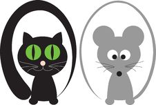 Cat And Mouse Stock Photos
