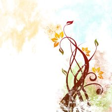 Free Floral Background Stock Photo - 14907090