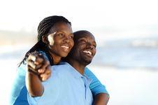 Free Joyful African Couple Royalty Free Stock Photography - 14908027
