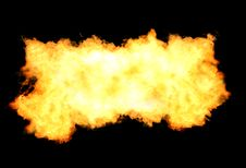 Free Fire Flames Background Stock Photos - 14908603