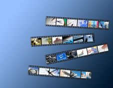 Business Film Strips Stock Photos
