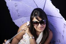 Free Umbrella Girl Stock Photos - 14909643