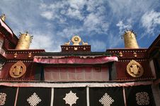 Free Tibet Jokhang Temple Main Shrine Royalty Free Stock Image - 14909926