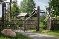 Free The Fence In A Russian Village Stock Images - 14917574