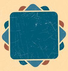Free Geometric Retro Background Royalty Free Stock Photography - 14910067