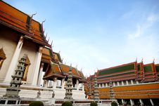 Wat Sutat Royalty Free Stock Images